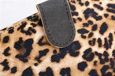 Sexy Leopard Streifen Ledertasche für iPad Air 2 - spitzekarte.com
