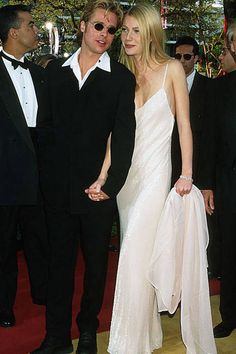 The cutest Oscars couples: Brad Pitt and Gwyneth Paltrow