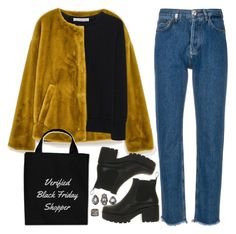 """""""Black Friday"""" by ritaflagy ❤ liked on Polyvore featuring Philipp Plein, Golden Goose, Vagabond, Charlotte Russe and Kendra Scott"""