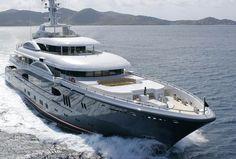 Lurssen yachts.
