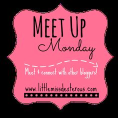 Meet Up Monday Link Party #51 - Little Miss Dexterous