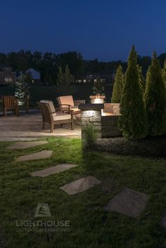 Landscape Lighting Design, Installation, Repair And Maintenance.  Specializing In Low Voltage LED Outdoor Lighting Services For Your Home Or  Business.