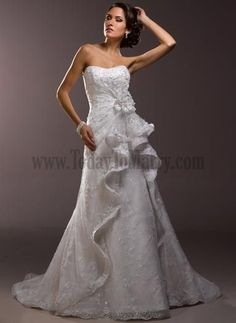 Style Your Own A Line Wedding Gown Hall Sweetheart Classic And Timeless Online Wedding Dresses