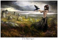 Celtic Fantasy Art | ... fantasy_celtic_irish_girl_female_bird_woman_picture_image_digital_art