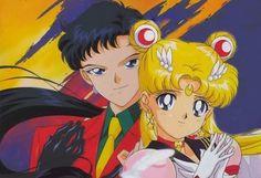 sailor moon and seiya |