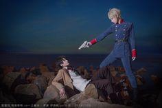 Aldnoah Zero cosplay. Inaho Kaizuka and Slaine Troyard.