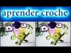FLORES EM CROCHE FLOR PARA TIC-TAC MODELO DOIS - 025