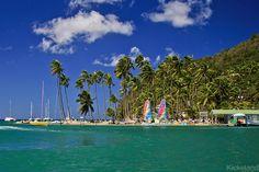 Marigot Bay beach by _Kickstand, via Flickr