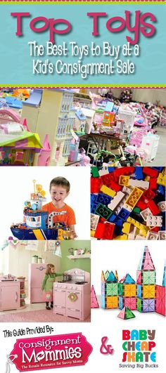 Guest Post: Best Toys to Buy at a Kids Consignment Sale from Baby Cheapskate