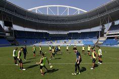 BotafogoDePrimeira: Arquibancadas do Nilton Santos vão ganhar as cores...
