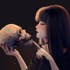Gotic by Lulybot amor boy dark manga mujer fondos de pantalla hot kawaii Dark Anime Girl, Kawaii Anime Girl, Cool Anime Girl, Manga Girl, Anime Art Girl, Manga Anime, Anime Black Hair, Gothic Anime, Anime Negra