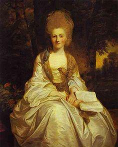 Dorothy,Countess of Lisburne,c. 1777 Reynolds