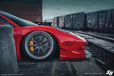 Liberty Walk Ferrari 458 Italia with PUR LG08 Wheels