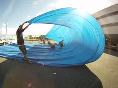 tarp surfing | No waves, no problema: Tarp Surfing! » Blog Archive » Longboard ...