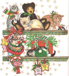 Cats - Christmas Donna Race // Found on donnarace.com