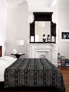 13 Bedrooms that Get Black & White Just Right