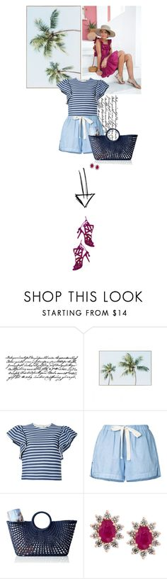 """holiday"" by beingaries ❤ liked on Polyvore featuring Tim Holtz, MSGM, Bassike, Mark & Graham and Effy Jewelry"