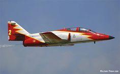 Spanish CASA C.101 Aviojet Trainer and Light Attack Aircraft.