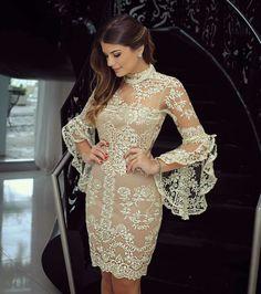 Style inspiration pic via Cute Dresses, Beautiful Dresses, Short Dresses, Prom Dresses, Formal Dresses, Wedding Dresses, Lace Dress, Dress Up, White Dress