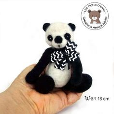 Wen, Panda ours de collection - annickabrial.net