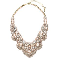 Jolie Statement Necklace | Chloe + Isabel (1,040 GTQ) ❤ liked on Polyvore featuring jewelry, necklaces, statement necklaces, chloe isabel jewelry and bib statement necklace