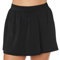 Trimshaper Slimming Control Swim Skirt Swimsuit Bottom Plus - Swim Skirt - Ideas of Swim Skirt Swim Skirt, Swim Dress, Plus Swim, Swim Shorts Women, Floral Tankini, Swimsuit Tops, Mini Skirts, Swimsuits, Swimming