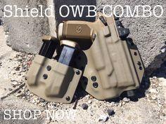 Light Bearing Shield OWB Kydex Gun Holster