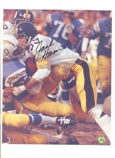 Autographed Jack Ham Pittsburgh Steelers 8x10 Photo