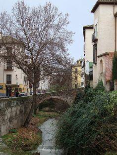 The Albaicín neighborhood in Granada: winding cobblestone roads, magically beautiful