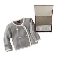 Our luxurious Chinese sweater jacket and slim cuffed pants come nestled in a keepsake linen box. Buy One, Get One Free. Use code BABYBOGO. Offer valid on Newborn Layette Collection only (discount applied to lowest priced item, quantity limited to stock on hand). Available at teacollection.com. #welcomebaby