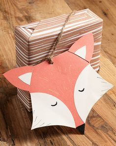 DIY Fox Tag - perfect for that foxy friend.