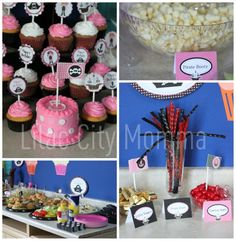 Pirate Theme Birthday Party for Girls