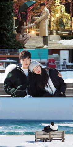Heo Joon-jae and Shim Cheong - Legend of the Blue Sea Legend Of The Blue Sea Kdrama, Legend Of Blue Sea, Heo Joon Jae, Jun Ji Hyun, Kdrama Actors, Second World, Sweet Couple, Celebs, Celebrities