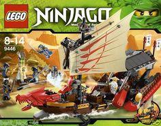 Lego 9446 Ninjago Destiny's Bounty New SEALED 684 Pcs 673419165525 | eBay....$104.95