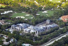 Michael Jordan's Florida home worth $20 million furnished. #Michael #Jordan #mansion