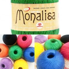 Fio Monalisa já disponível no www.armarinhosaojose.com.br! Conheça essa novidade e prepare - se para a próxima estação. #lancamento #croche #artesanato #circuloprodutos #handmade #modaverao