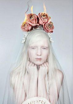 """Nastya Zhidkova by Danil Golovkin in """"Wild Flower"""""""