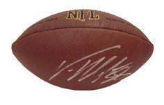Von Miller Autographed NFL Wilson Composite Football, Proof Photo #VonMiller #ProBowl #MileHighSalute #NFLFootball #DenverBroncos #MileHigh #Denver #Broncos #OrangeCrush #NFL #Football #Autographed #Autographs #Signed #Signatures #Memorabilia #Collectibles #FreeShipping #BlackFriday #CyberMonday #AutographedwithProof