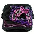 Crossed Pistols cap.  $15.00 at www.buytrende.com