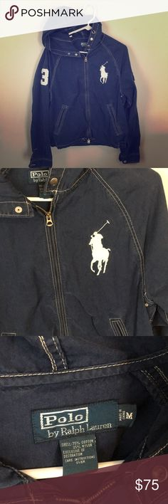 Polo RL Jacket Excellent condition.  One small spot as pictured.  Runs like a men's S-M.    Will ship immediately✅ Questions⁉️Please ask‼️ Thank you for looking  Polo by Ralph Lauren Jackets & Coats
