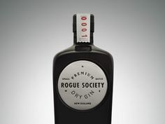 Rogue Society Gin on Packaging of the World - Creative Package Design Gallery