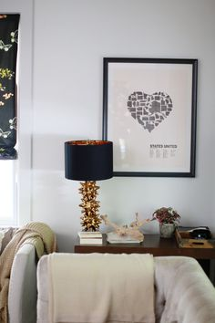 Spotted | Our Gold Urchin Lamp In Fashion Illustrator Dallas Shawu0027s Home    So ...