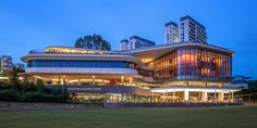 NUS - National University of Singapore Singapore Architecture, Healthcare Architecture, Interior Design Singapore, Education Architecture, Commercial Architecture, School Architecture, Building Exterior, Building Facade, Building Design