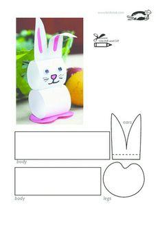 Conejo papel