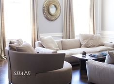 Rule of Three | Rue: vary height, color appears 3 times, cohesive shapes to pull together a room