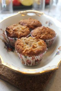 Agnethe - about a girl: Æblemuffins a´la Claus Meyer Apple Muffins, Cake Cookies, Cupcakes, Bread Cake, Healthy Desserts, No Bake Cake, Cupcake Toppers, Food Inspiration, Good Food