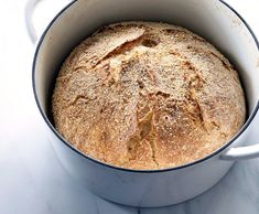 No-Knead Bread - NYT Cooking Here is one of the most popular recipes The Times has ever published, courtesy of Jim Lahey, owner of Sullivan Street Bakery It requires no kneading It uses no special ingredients, equipment or techniques Knead Bread Recipe, Best Bread Recipe, No Knead Bread, Bread Recipes, Cooking Recipes, Cooking Bread, Easy Recipes, Most Popular Recipes, Favorite Recipes