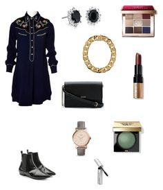 """Bohemian"" by martens-ingrid on Polyvore featuring мода, Isabel Marant, DKNY, Blue Nile, AMBUSH, FOSSIL, Bobbi Brown Cosmetics, look, isabelmarant и fashionset"