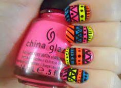 Resultado de imagen para uñas con diseños faciles de moda