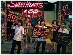 Sweet Hearts A Go-Go / Pattaya Walking Street / Thailand